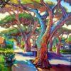 Malujeme barevně a s kontrasty- stromy